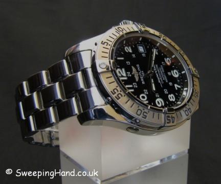 Breitling SuperOcean Black Dial