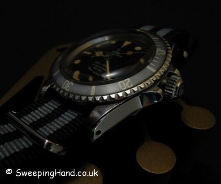 Vintage Tudor Submariner For Sale - 7016 Military Gilt Dial 1968