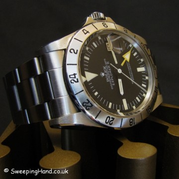 Rolex Explorer 1655 Steve McQueen For Sale - Orange Hand