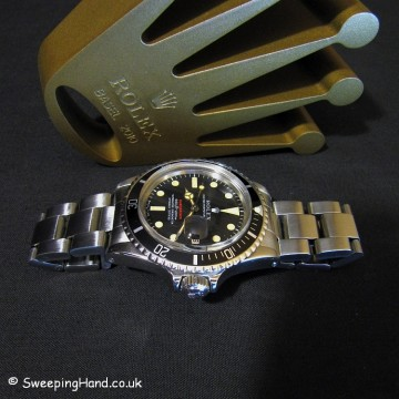 Vintage Rolex Red Submariner 1680 For Sale 1972