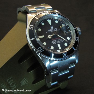 Vintage Rolex Red Submariner For Sale - 1680 Mk5