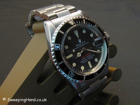 Rolex Red Submariner For Sale - 1680 Metres First 1969