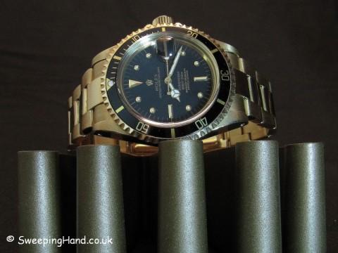 Vintage Rolex Gold Submariner 1680