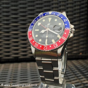 Vintage Rolex GMT Master 1675 For Sale - Full Collector Set 1971