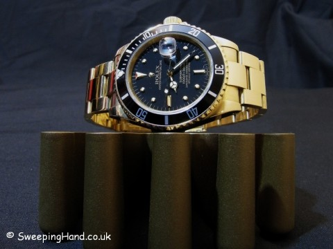 Gold Rolex Submariner For Sale