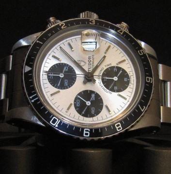 Tudor 79170 Big Block Chronograph For Sale - Full Set 1990