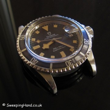 Tudor Submariner Snowflake 94110 For Sale 1979