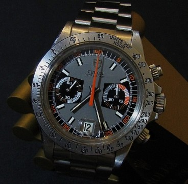 Tudor 7159 Monte Carlo Chronograph For Sale - Box and Papers 1972