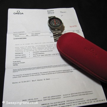 Omega Speedmaster Professional MkII - Exotic / Racing Dial - Bienne Service & Warranty
