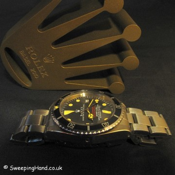 Rolex Double Red Sea-Dweller 1665 For Sale - 1974