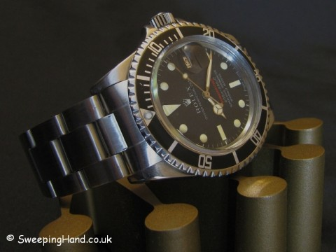 Rare Rolex Red Submariner 1680 For Sale 1968
