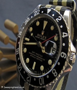 Vintage Rolex 1675 GMT Master Gilt Dial For Sale - 1963