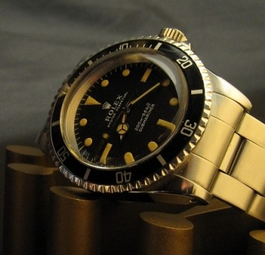 Vintage Rolex 5513 Submariner For Sale - Metres First 1967