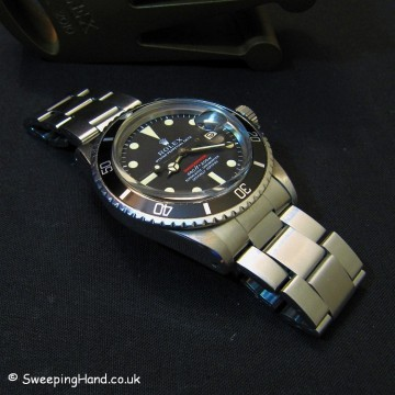 Rolex Red Submariner 1680 Mark 4 For Sale 1970