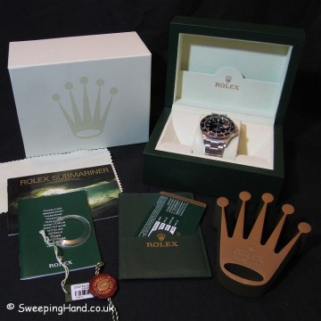 Rolex Submariner 16610 For Sale - V Serial 2010 - Mint Full Set