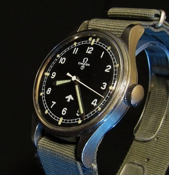 Military Issued Omega RAF Watch 1953 For Sale