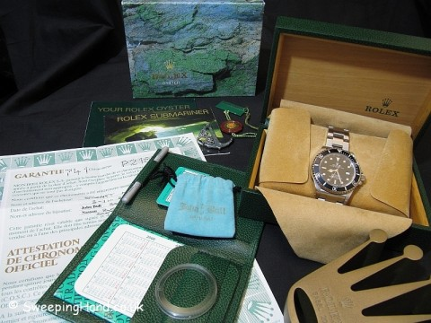 Rolex Seadweller 16600 For Sale – Full Collector Set 2000
