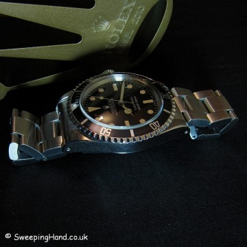 Rolex Submariner 5513 For Sale - Matte Dial Collector Set 1983/1984