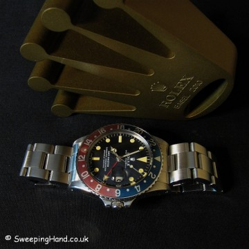 Rolex 1675 GMT Master For Sale 1972 - Stunning Set with Rolex Guarantee