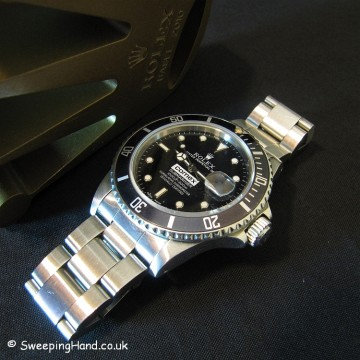 Rolex Comex Submariner 16800 - 10 Year Service Presentation Watch 1984