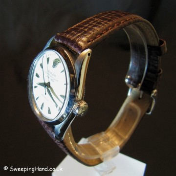 1950's Rolex Speedking For Sale 6420 - Rare '50m' Dial