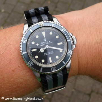 Vintage Rolex 5513 Submariner For Sale from 1968 / 1969
