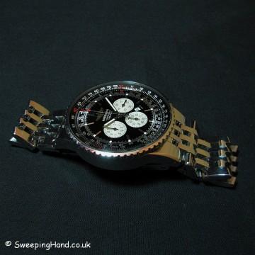 Breitling Navitimer Heritage A35350 - Rare Black Dial - Full Set