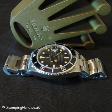 Rolex Submariner 16800 For Sale - Matte Dial - Full Collector Set -1983/1984
