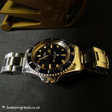 Rolex 5513 Submariner For Sale - Metres First 1967