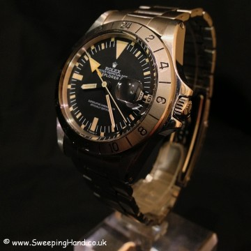 Rolex Explorer II 1655 - Steve McQueen Orange Straight Second Hand (1972) - 2 Year International Rolex Guarantee