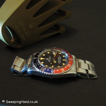 Rolex 1675 GMT Master 1972 For Sale - All Original - Stunning!