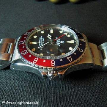 Vintage Rolex GMT Master 1675 For Sale from 1973 / 1974