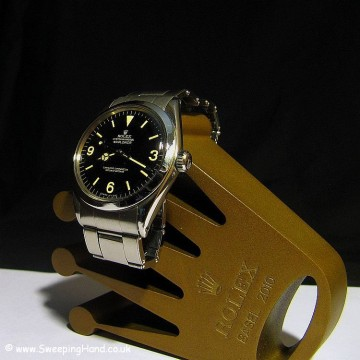 1966 Rolex 1016 Explorer For Sale - Gilt Dial