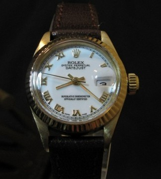 Ladies 18k Gold Rolex Datejust 6917 from 1973