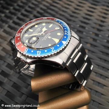 Gilt Dial Rolex GMT Master 1675 Stunner!