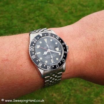 1971 Vinatge Rolex GMT Master 1675 For Sale