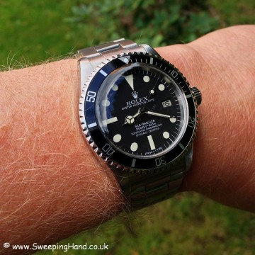 Rolex 1665 Great White Seadweller For Sale - Full Collector Set