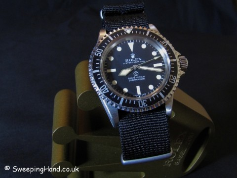 Military Rolex Submariner 5513 Milsub For Sale - Rare W10 SAS Issue