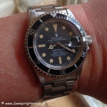 Vintage Rolex 1680 Submariner Date For Sale - One Owner Full Collector Set with 2 Year Guarantee!