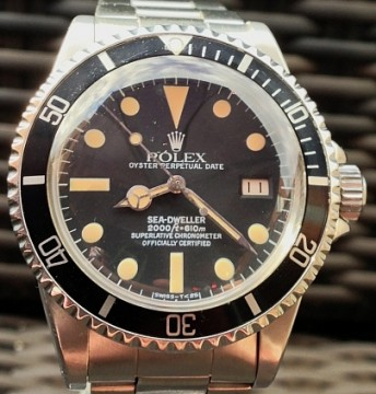Rolex 1665 Seadweller MK1 'Great White'