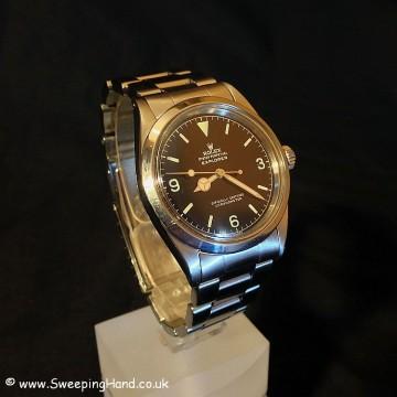 UBER RARE Rolex 1016 Explorer 'OCC' Gilt Dial - Serial only 200 off Ian Fleming's own James Bond watch