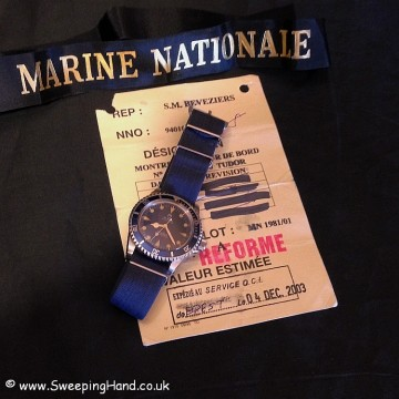 Tudor Submariner Marine Nationale (MN 81)