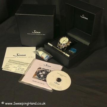UBER RARE Sinn 103 ST SA Limited Edition - White Dial with White Sub Dials!