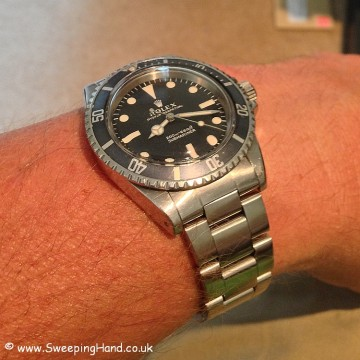 Rolex 5513 Metres First 1968 For Sale