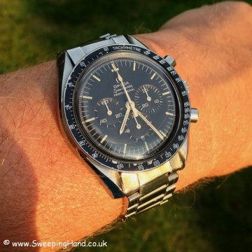 Vintage Omega Speedmaster 145.002 For Sale from 1972 - Full Collector Set