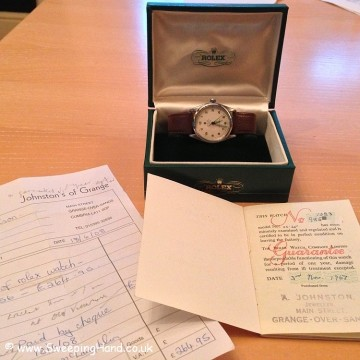 Vintage 1964 Rolex Air King Super Precision - Box & Papers from 1967