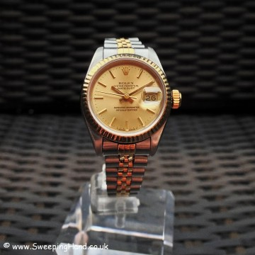 Ladies Bi-Metal Gold Datejust with Full Service & 12 Months Warranty