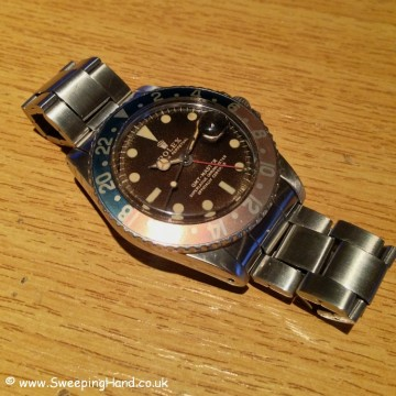 Tropical Brown 1965 / 1966 Rolex 1675 GMT Gilt Dial - Full Collector Set