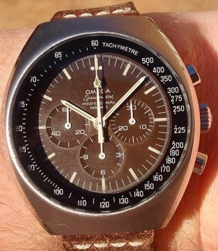 Rare Tropical Brown Omega Speedmaster MK2