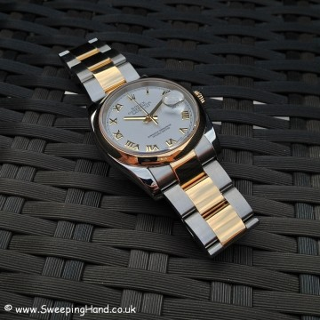 Rolex Bi-Metal Gold Datejust 116203